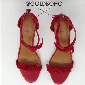 Red High Heels-Size 6